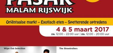 Komend weekend 4 en 5 maart Pasar Malam Rijswijk