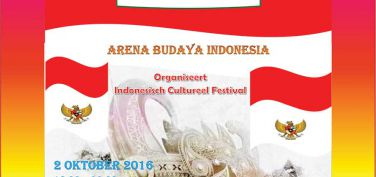 Programma jubileum Arena Budaya Indonesia 2 oktober