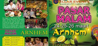 Programma Pasar Malam Stellar Arnhem 24-25-26 maart