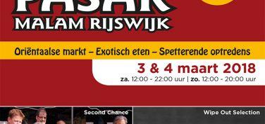 Pasar Malam Rijswijk flyer 3 en 4 maart 2018