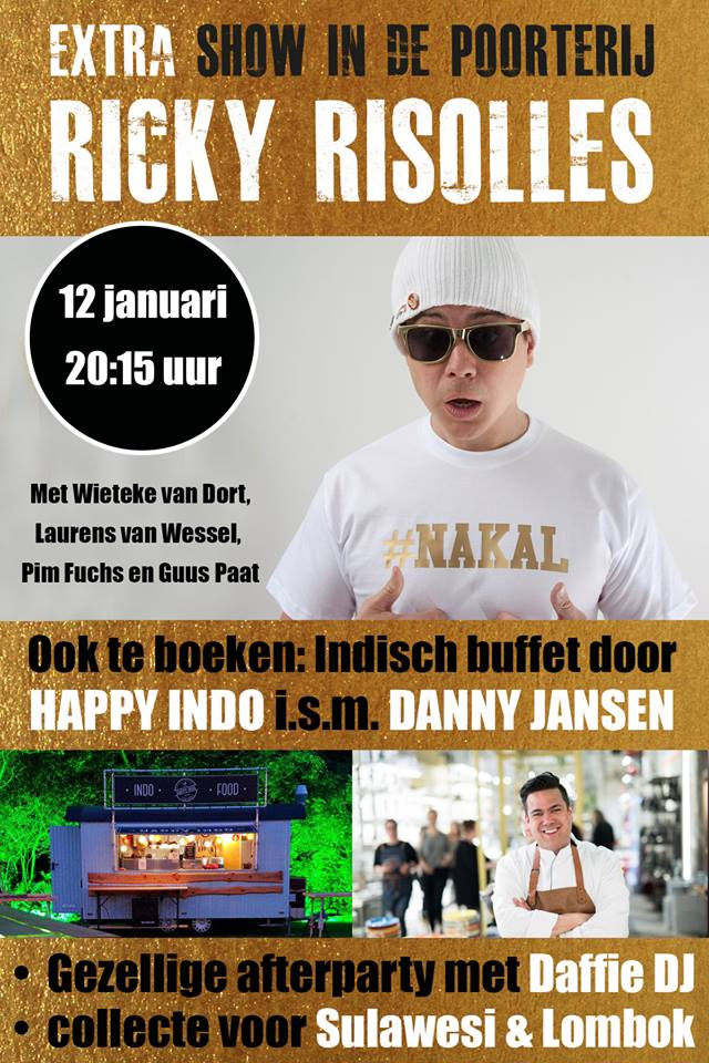 Ricky Risolles - Ya, dat is iets Indisch