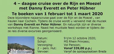 Cruise met Peter en Danny 9-12 oktober 2020