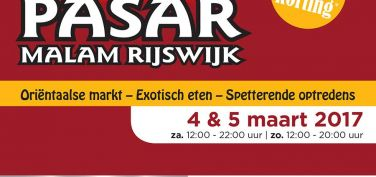 Pasar Malam Rijswijk 4 en 5 maart