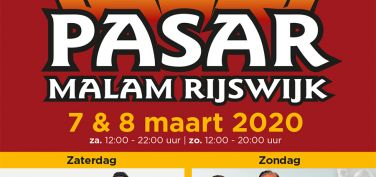 Pasar Malam Rijswijk 7 en 8 maart