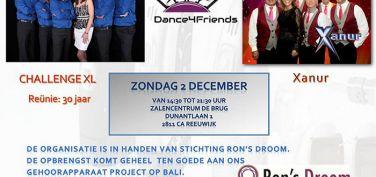 Dance 4 Friends 2 december a.s!